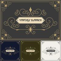 Vintage background style Design Template