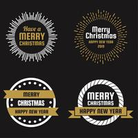 Christmas Vector Logo for banner