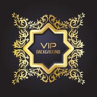 Gold background flyer style Design Template