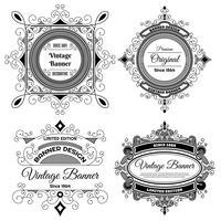 Modello di progettazione etichetta sfondo vintage