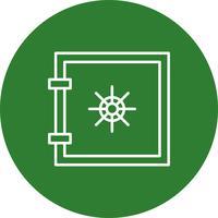 Icono de vector locker