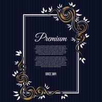 Vintage background label style Design Template