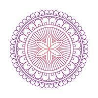 Mandala ornamento vector de la imagen