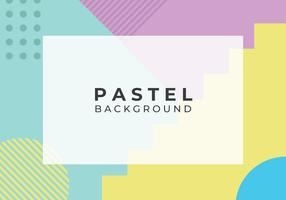 Geometric Abstract Pastel Background