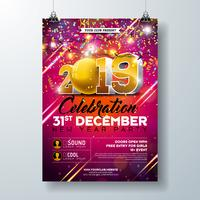 Nyårsfesten Celebration Poster