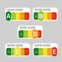 Nutri-Score official labels