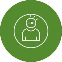 Vector job icon