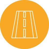 Icono de carretera vector