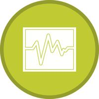 Ecg filled icon