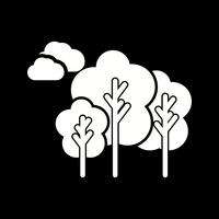 vector bomen pictogram