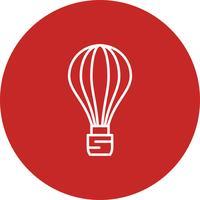 Ícone de balão de ar de vetor