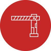 Vector Barrier icon