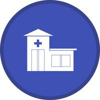 Emergency room filled icon