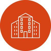 Icono de edificio vector