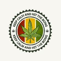 Emblema da Cannabis