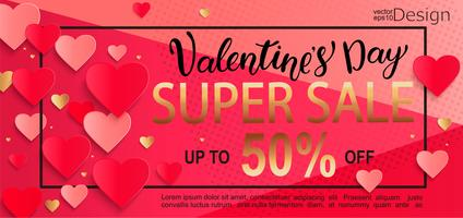 Valentines day super sale gift card.