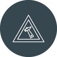Vector werkend pictogram