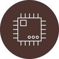Vector processorpictogram