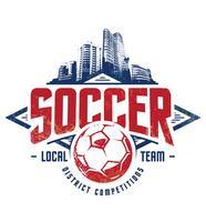 Grunge Soccer Emblem
