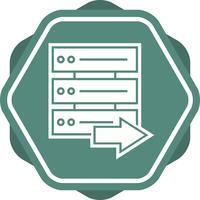 Icona di sfondo multi colore riempita dal server