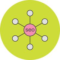 vector seo link icon