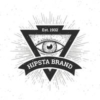 Banner di hipster