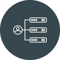 Icono de perfil de vector