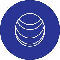 Icono de planeta vector