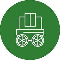 Vector wagon icon