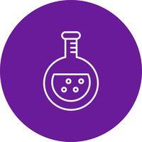 Ícone de química do vetor