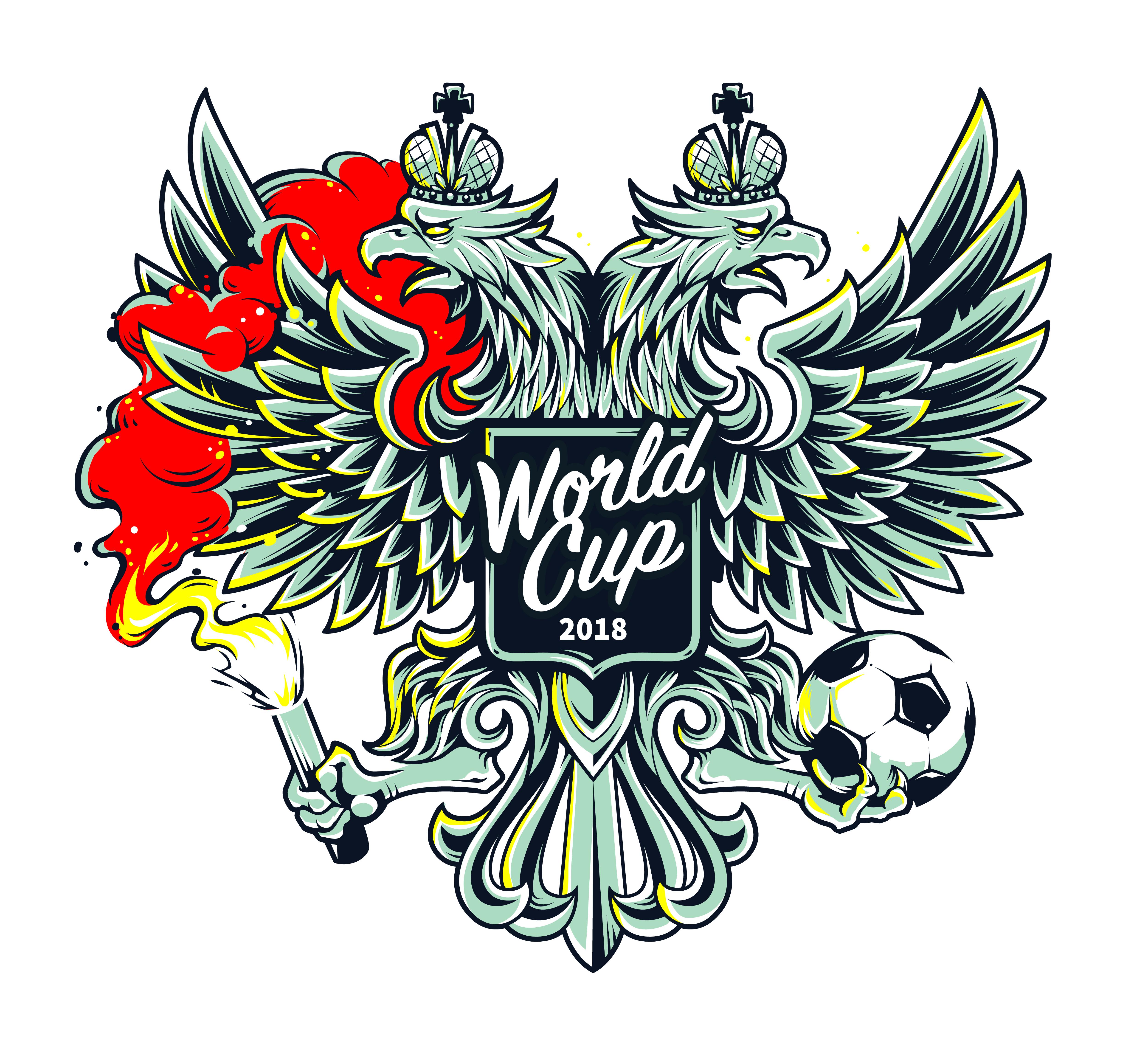 Willkommen In Russland Art Download Kostenlos Vector