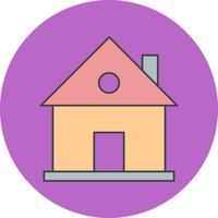 Vektor-Haus-Symbol