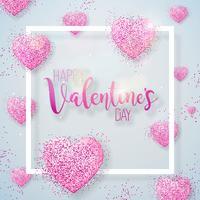Happy Valentijnsdag illustratie