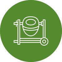 Icono de la máquina del vector