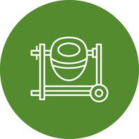 Icône de machine de vecteur