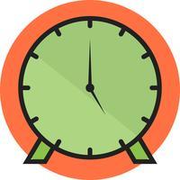 clock line filled
