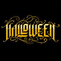 Halloween Hand-Drawn Gothic Lettering
