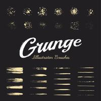Grunge Brushes Set