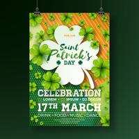 Saint Patrick's Day Party Flyer vector