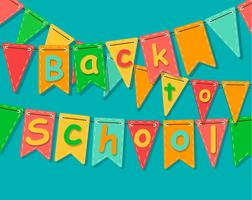 Back to school banner.