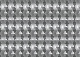 Monochrome low poly abstract background vector