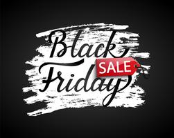 Sale banner for black friday. vector