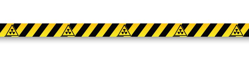Vector warning signs and tapes.