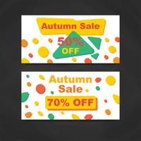 Höstens försäljningsbannor