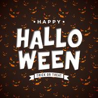 Happy Halloween illustratie