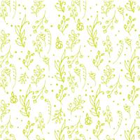 Herbal seamless pattern.
