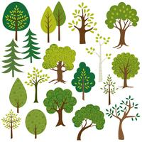 trees clipart vector