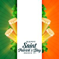 heureux saint patricks day background