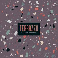fond violet abstrait terazzo