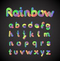 Conjunto de caracteres coloridos, ilustração vetorial